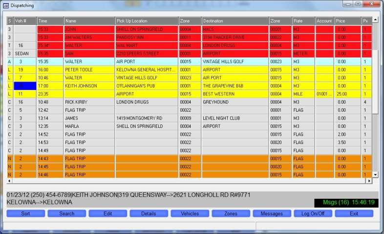 Taxi dispatch software/system Taxi management app